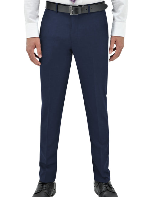 Edward 106 Royal Blue Wool Trouser