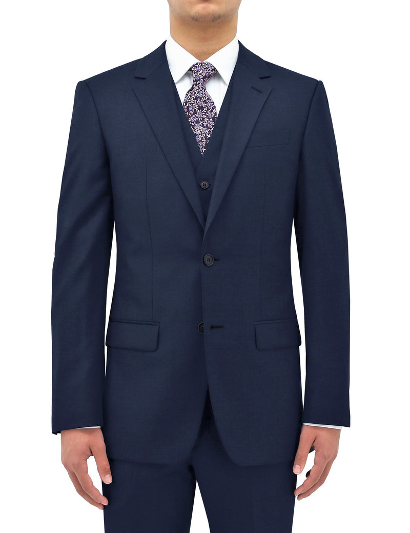 Shape 106 Royal Blue Wool Suit Jacket