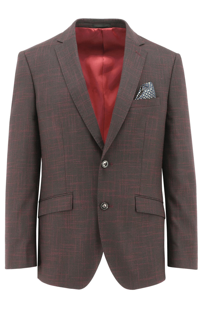Royale Red Hash Sports Jacket