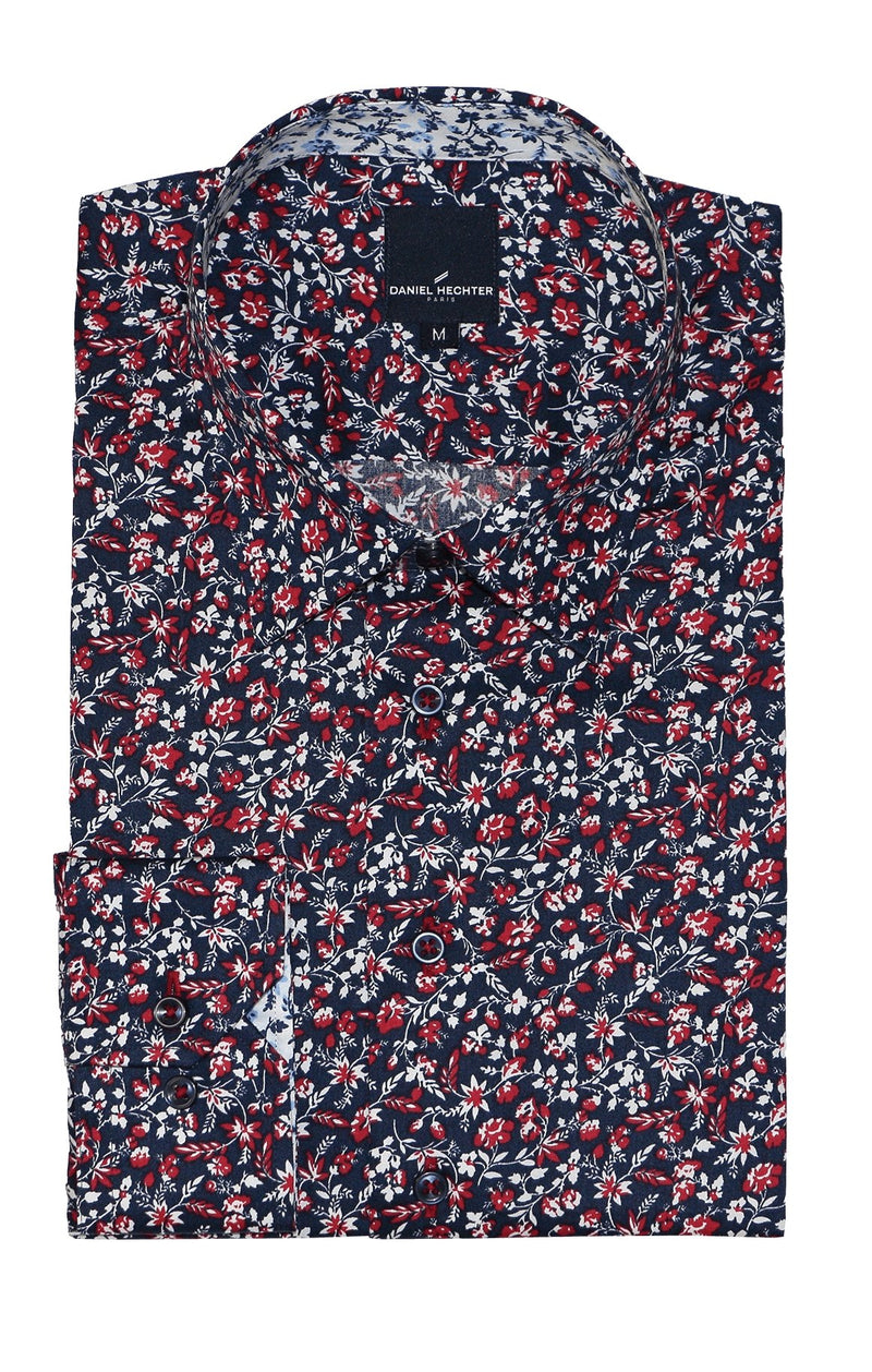 Sel Red Ivy Casual Shirt