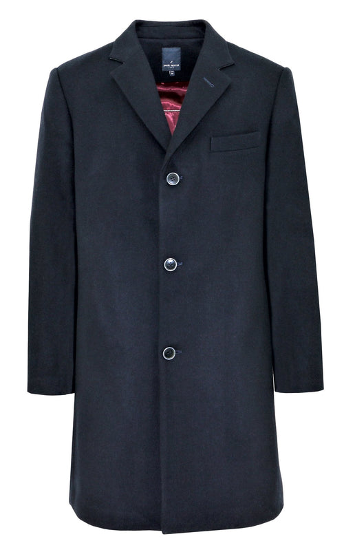 Etienne Navy Coat