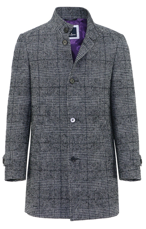 Butler Check Coat