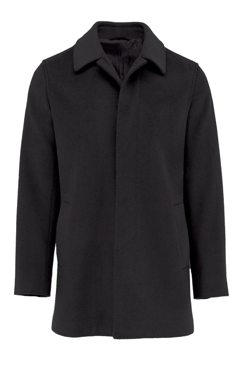 Carvell Black Coat