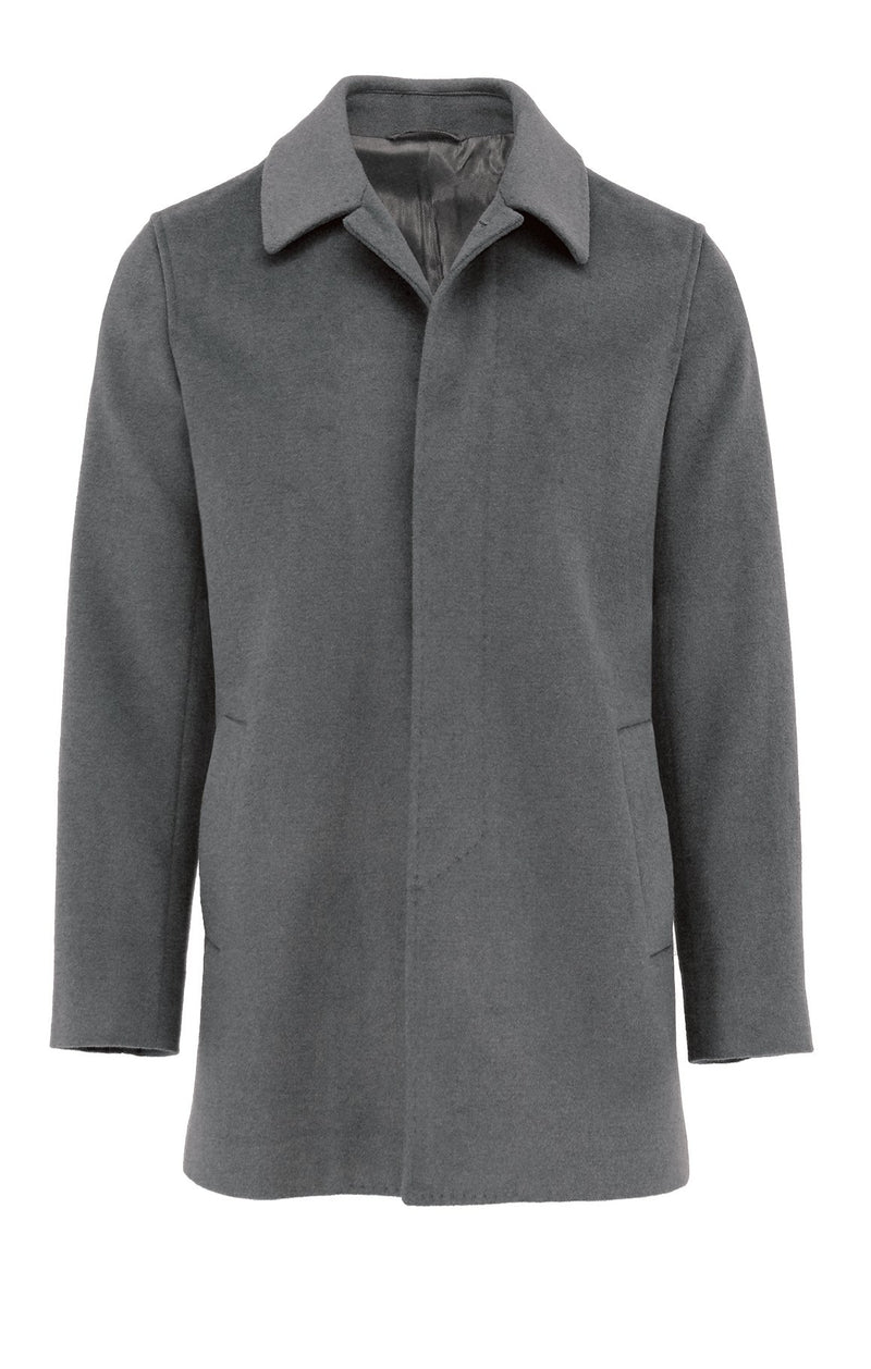 Carvell Grey Coat