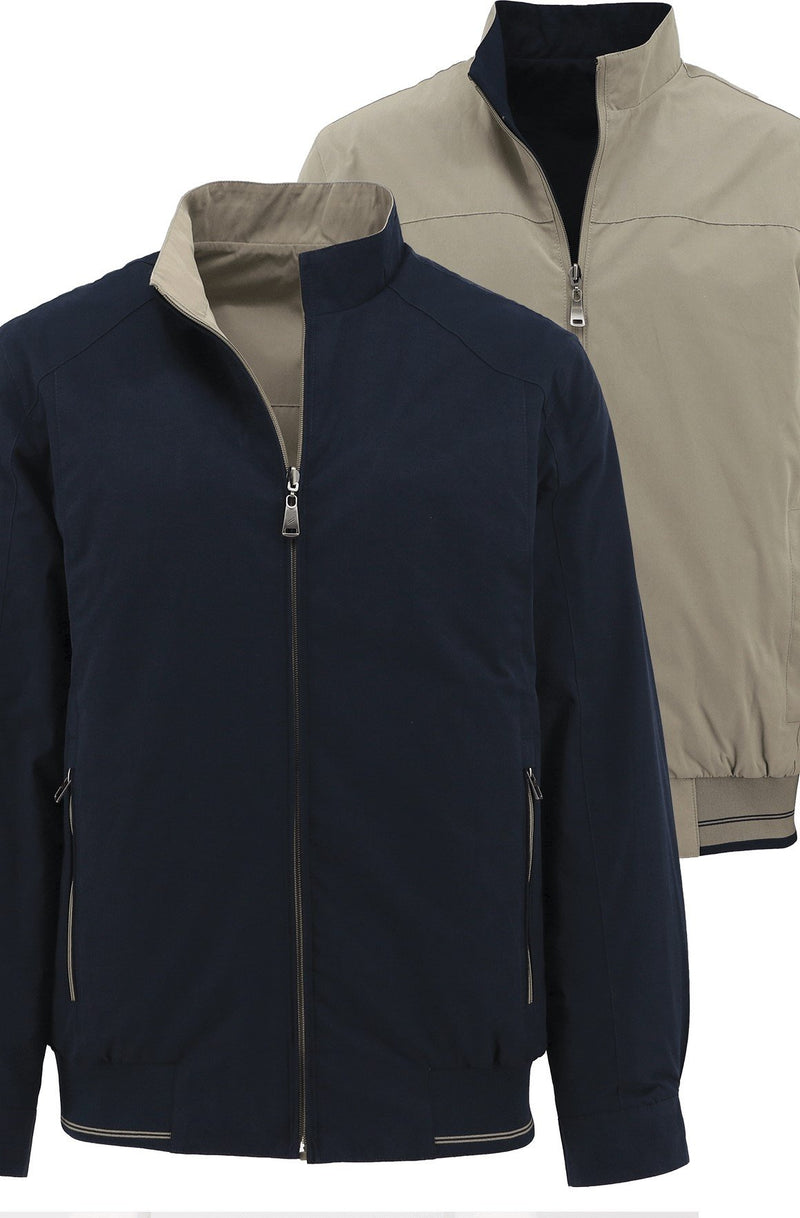 Reversible Navy/Tan Jacket - L