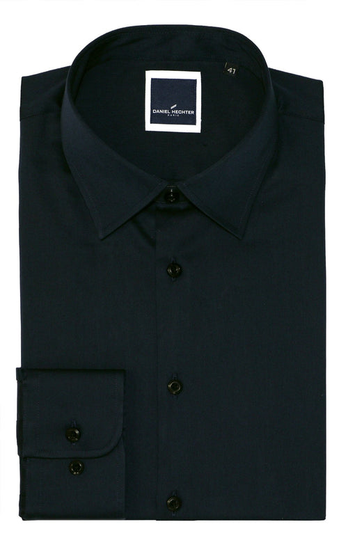Franco Black Business Shirt - 39