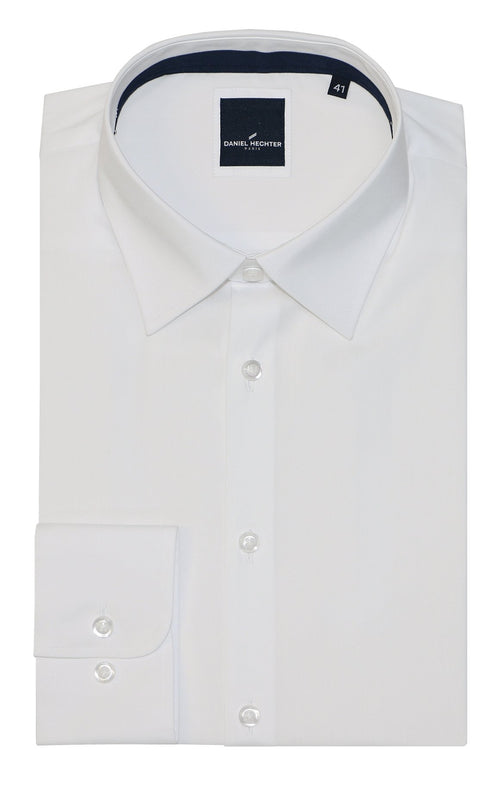Franco White Business Shirt