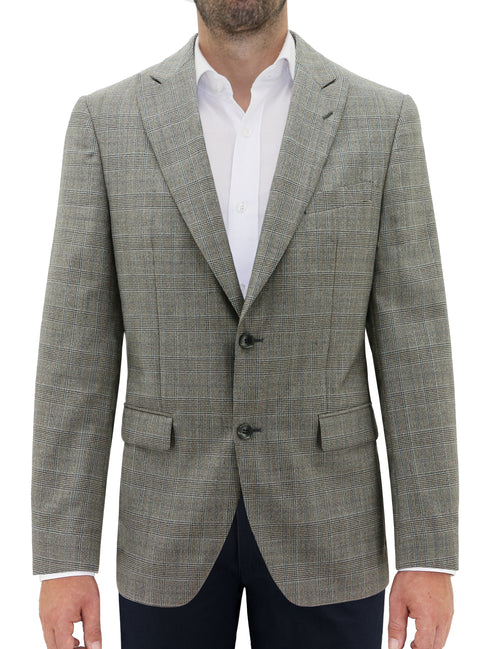Moscow Bronze Check Sports Jacket