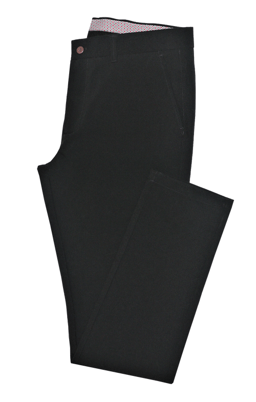 Black Stretch Chino
