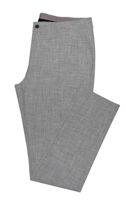 Grey Stretch Chino