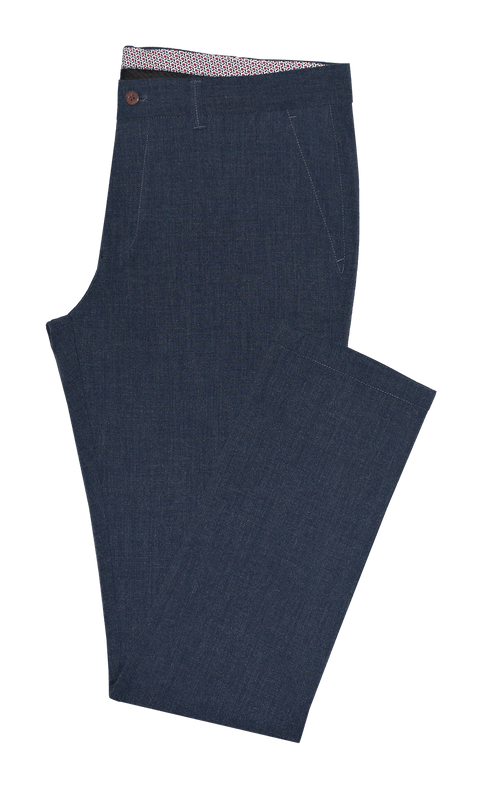 Navy Stretch Chino
