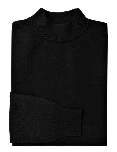 Black Knit Turtleneck - XL, 2XL