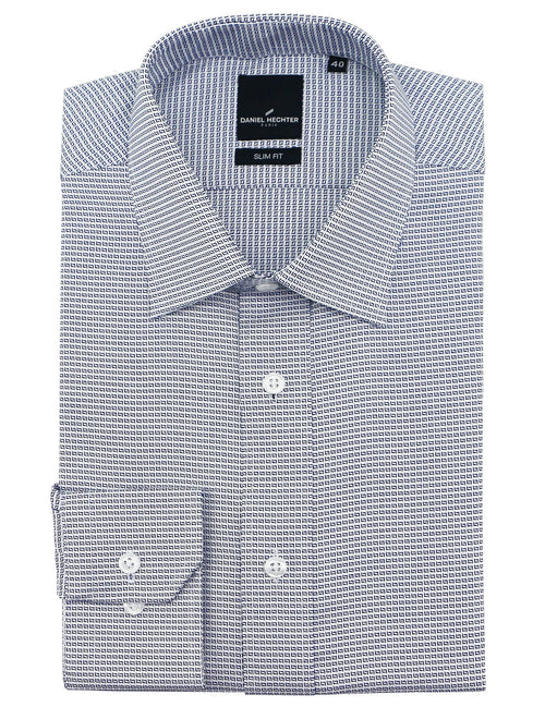 Liberty Business Blue Square Shirt