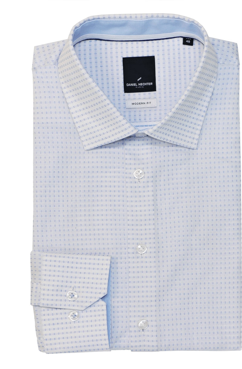 Shape Soft Spot Blue Shirt