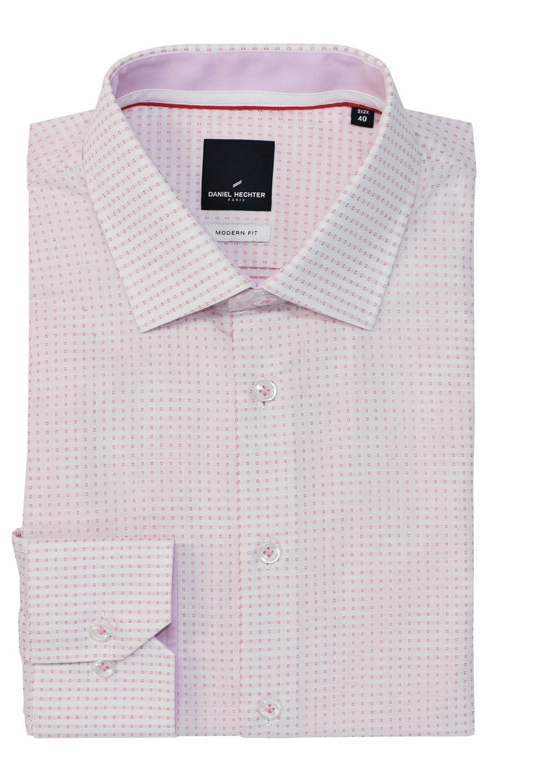 Shape Soft Spot Pink Shirt