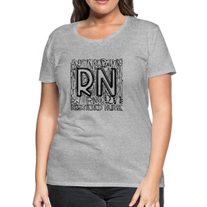 RN T-shirt - heather gray