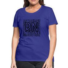 Load image into Gallery viewer, RN T-shirt - royal blue