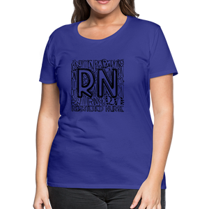 RN T-shirt - royal blue