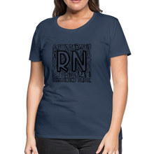 Load image into Gallery viewer, RN T-shirt - navy