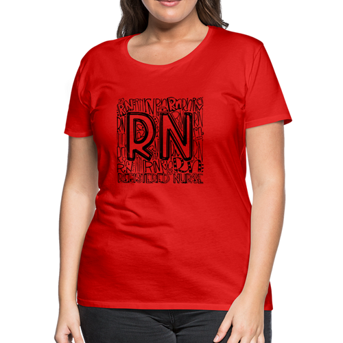 RN T-shirt - red