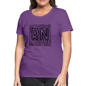RN T-shirt - purple