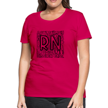 Load image into Gallery viewer, RN T-shirt - dark pink