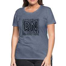 Load image into Gallery viewer, RN T-shirt - heather blue