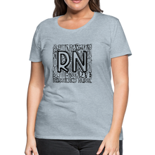Load image into Gallery viewer, RN T-shirt - heather ice blue