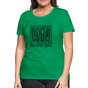 RN T-shirt - kelly green