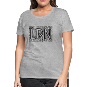 LPN T-Shirt - heather gray