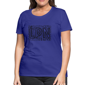 LPN T-Shirt - royal blue