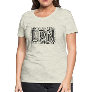 LPN T-Shirt - heather oatmeal