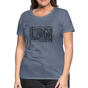 LPN T-Shirt - heather blue