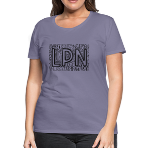 LPN T-Shirt - washed violet