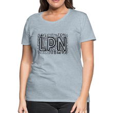 Load image into Gallery viewer, LPN T-Shirt - heather ice blue