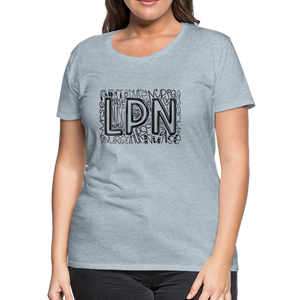 LPN T-Shirt - heather ice blue
