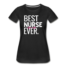 Load image into Gallery viewer, Best Nurse T-Shirt - black