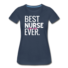 Load image into Gallery viewer, Best Nurse T-Shirt - navy