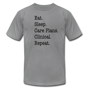 Care Plans Clinical Tee - slate