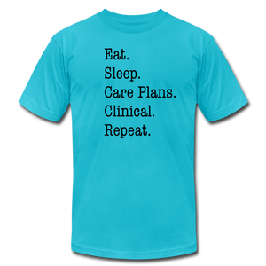 Care Plans Clinical Tee - turquoise