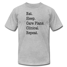 Load image into Gallery viewer, Care Plans Clinical Tee - heather gray