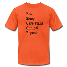 Load image into Gallery viewer, Care Plans Clinical Tee - orange