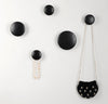 Wall Hooks Coat Hooks 5Pcs Dots Hook Door Hanger Hook for Home Decor