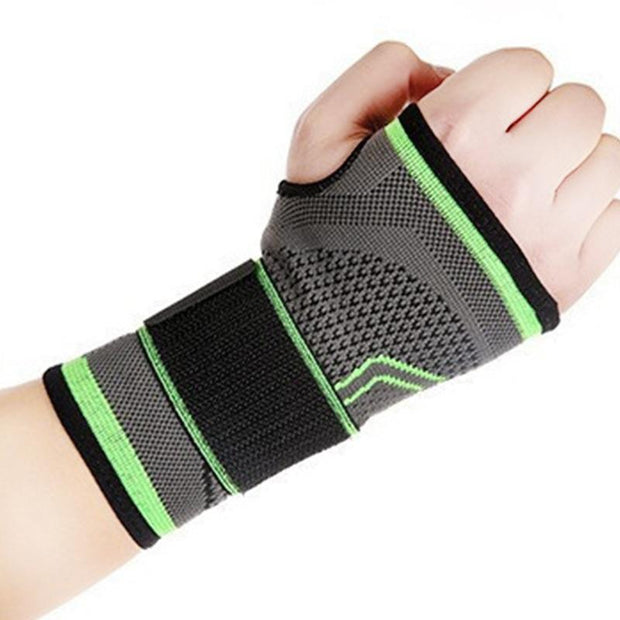 1pc Chartreuse Green Non-Skid Yoga Hand Brace for Wrist Support - Yoga Gloves - Chakra Galaxy