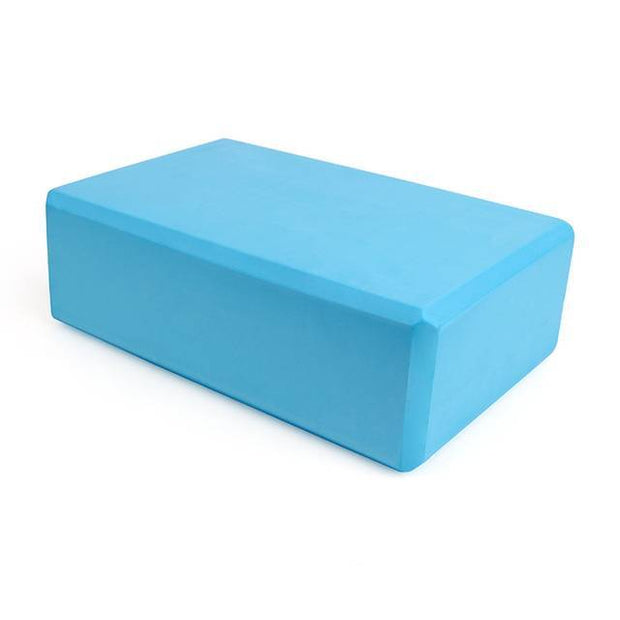 1pc Turquoise Blue Soft Yoga Workout & Meditation Block EVA - Yoga Props - Chakra Galaxy