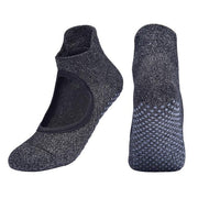 3 Pairs Breathable Heel Protector Anti-Slid Pilates Yoga Socks - Yoga Socks - Chakra Galaxy