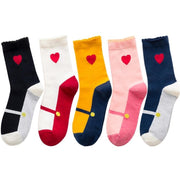 3 Pairs Lovely Colorful Comfortable Cotton Breathable Yoga Socks - Yoga Socks - Chakra Galaxy