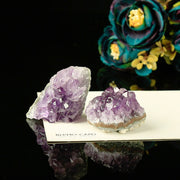 Crystalline Teeth Irregular Natural Amethyst Chakra Healing 1 pc Ornament