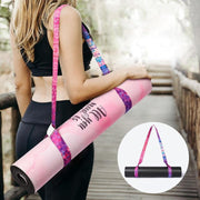 Colorful Adjustable Sports Sling Shoulder Carry Yoga Mat Strap - Yoga Mat Straps - Chakra Galaxy