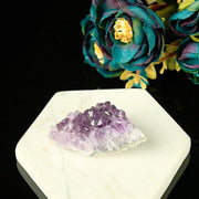 Crystalline Teeth Irregular Natural Amethyst Chakra Healing 1 pc Ornament - Chakra Stones - Chakra Galaxy